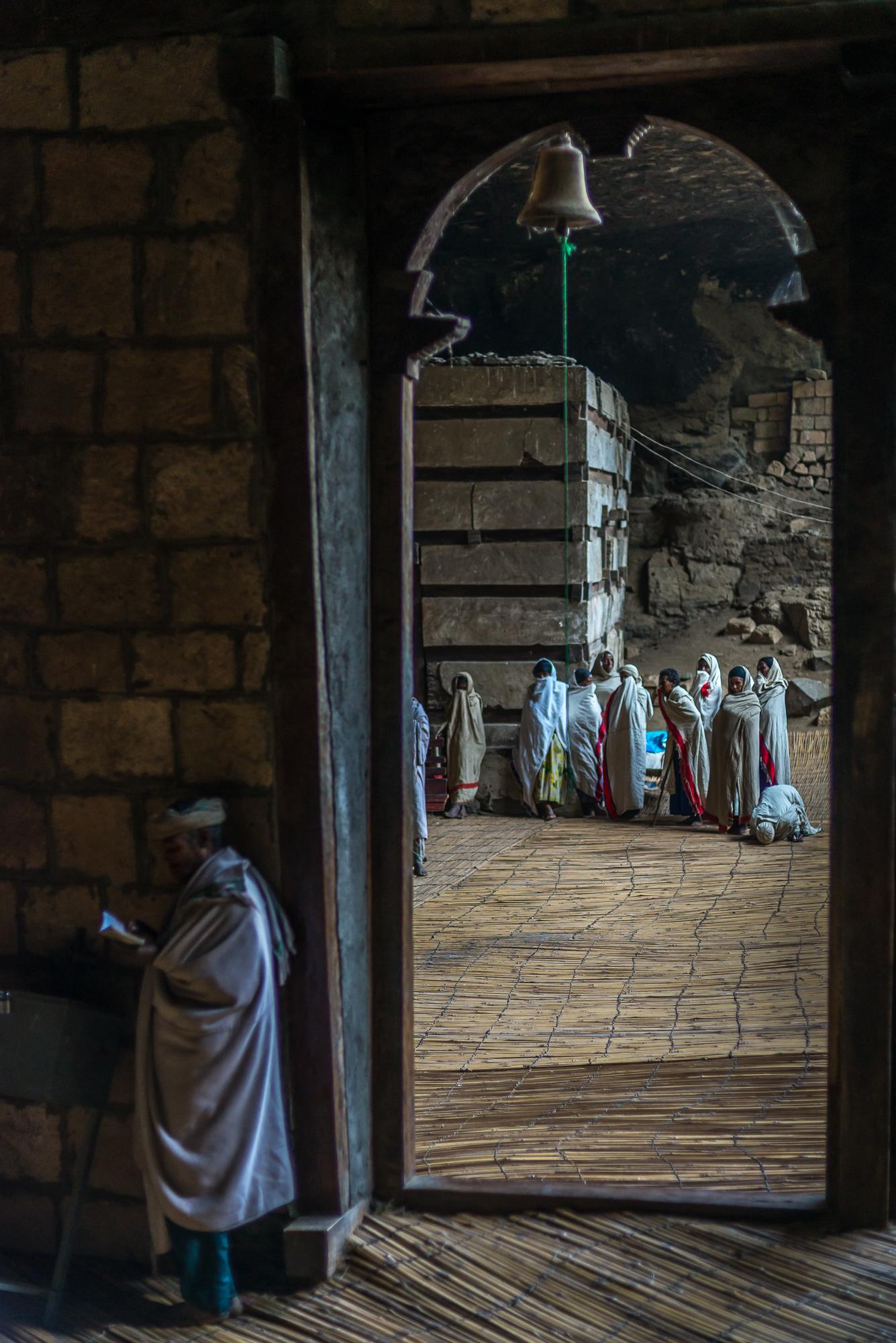 chiesa Yemrehanna Kristos vicino a Lalibela