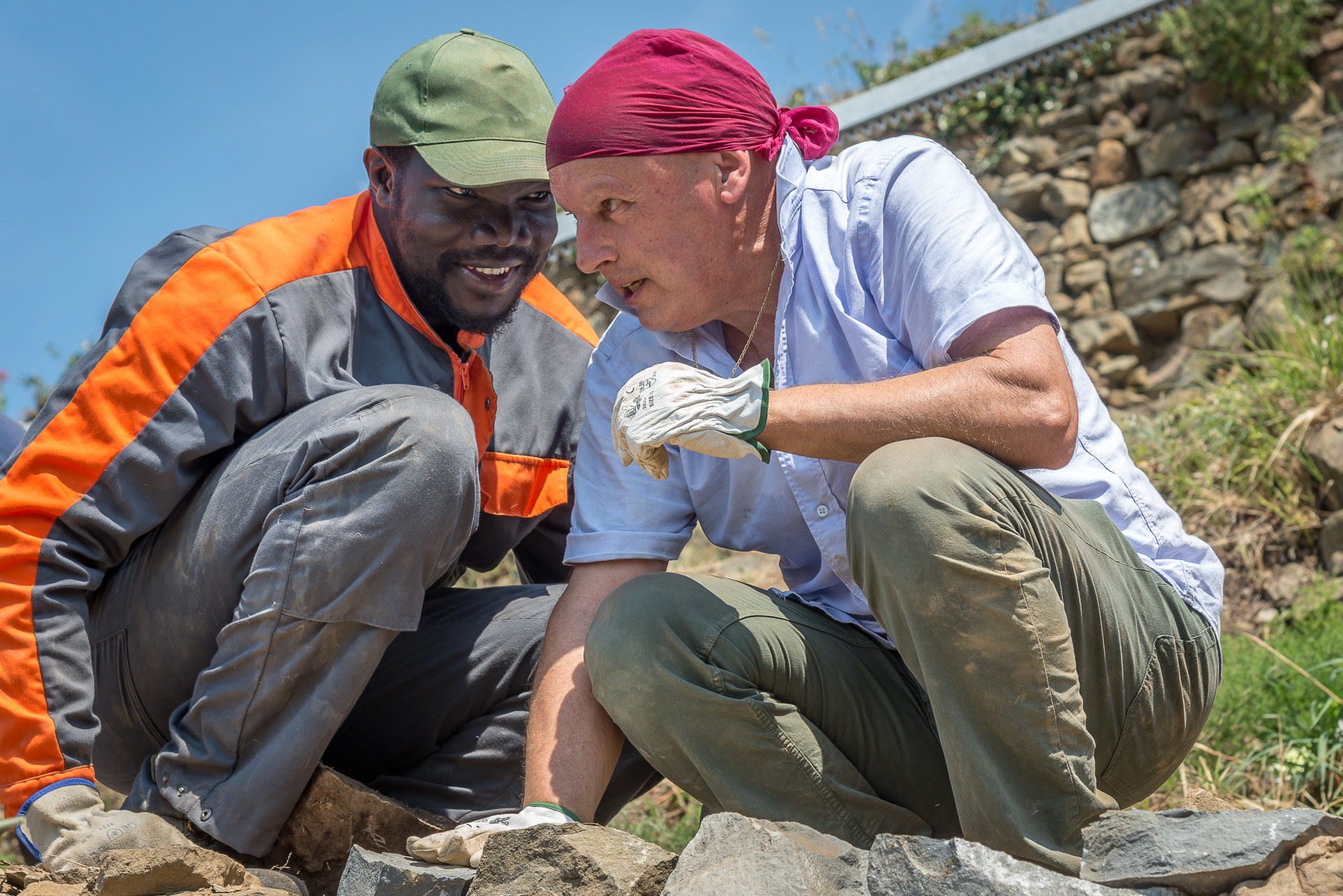 course of integration for African Refugees in the Cinque Terre