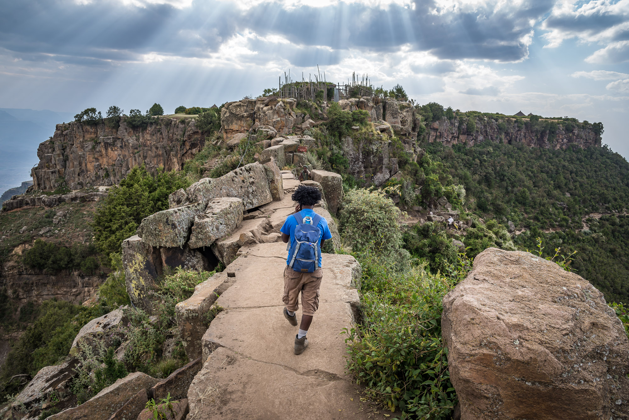 trekking negli altipiani etiopi