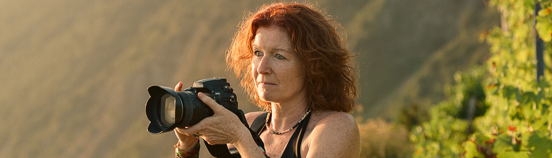 La fotografa Catherina Unger