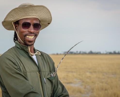 Guida in Botswana nel Kalahari