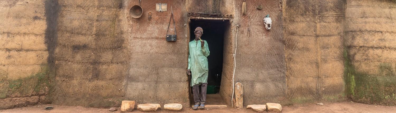 Africa, benin Naititingou batammariba