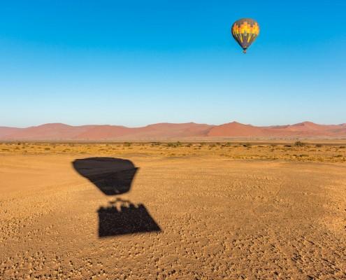 Ballooning Namibia Sossusvlei