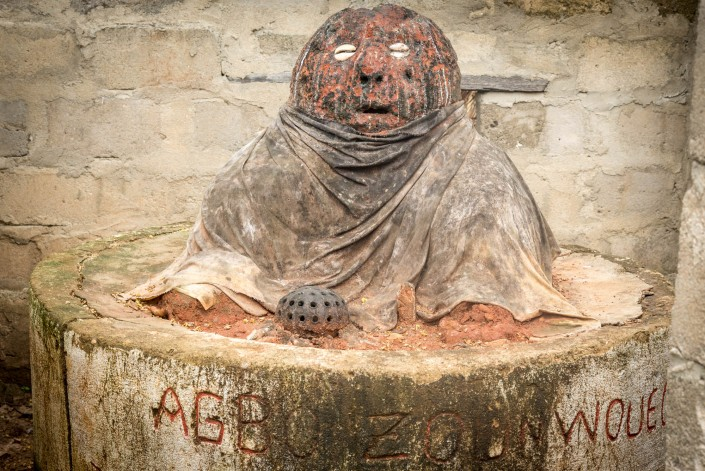 Feticcio vudù in Benin