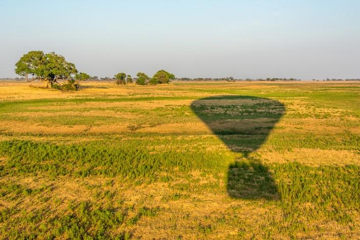 balloon ride in Kafue np zambia