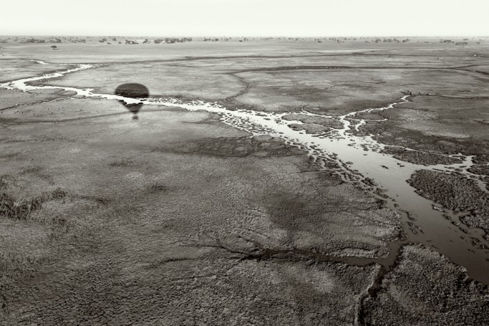 Zambia, ballooning in Kafue NP