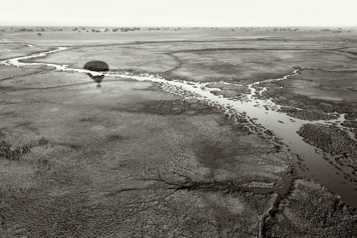 Ballonfahrt im Kafue Nationalpark