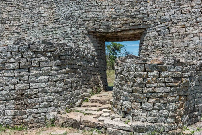 Great Zimbabwe Ruinen