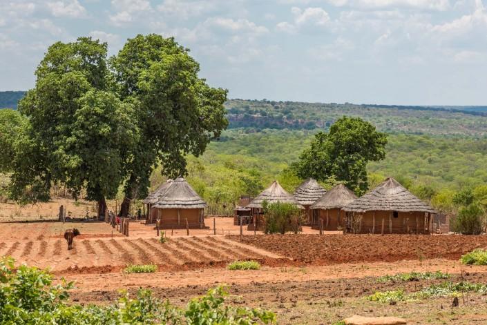 ein Dorf in Zimbabwe