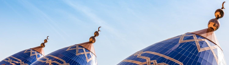 Senegal, die grosse Moschee von Touba