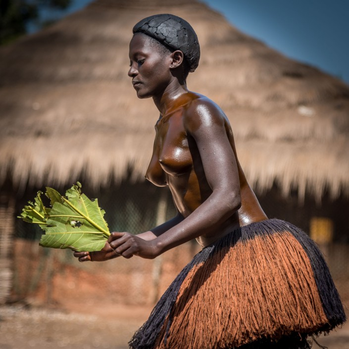 Guinea Bissau, girl's initiation ceremony