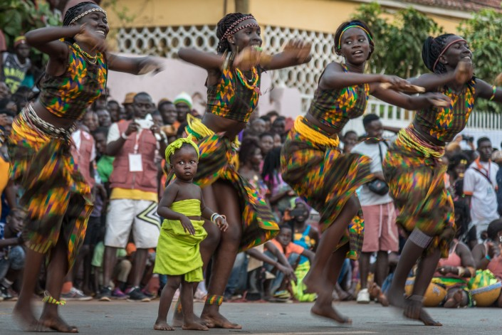 Guinea-Bissau:Karneval in Bissau