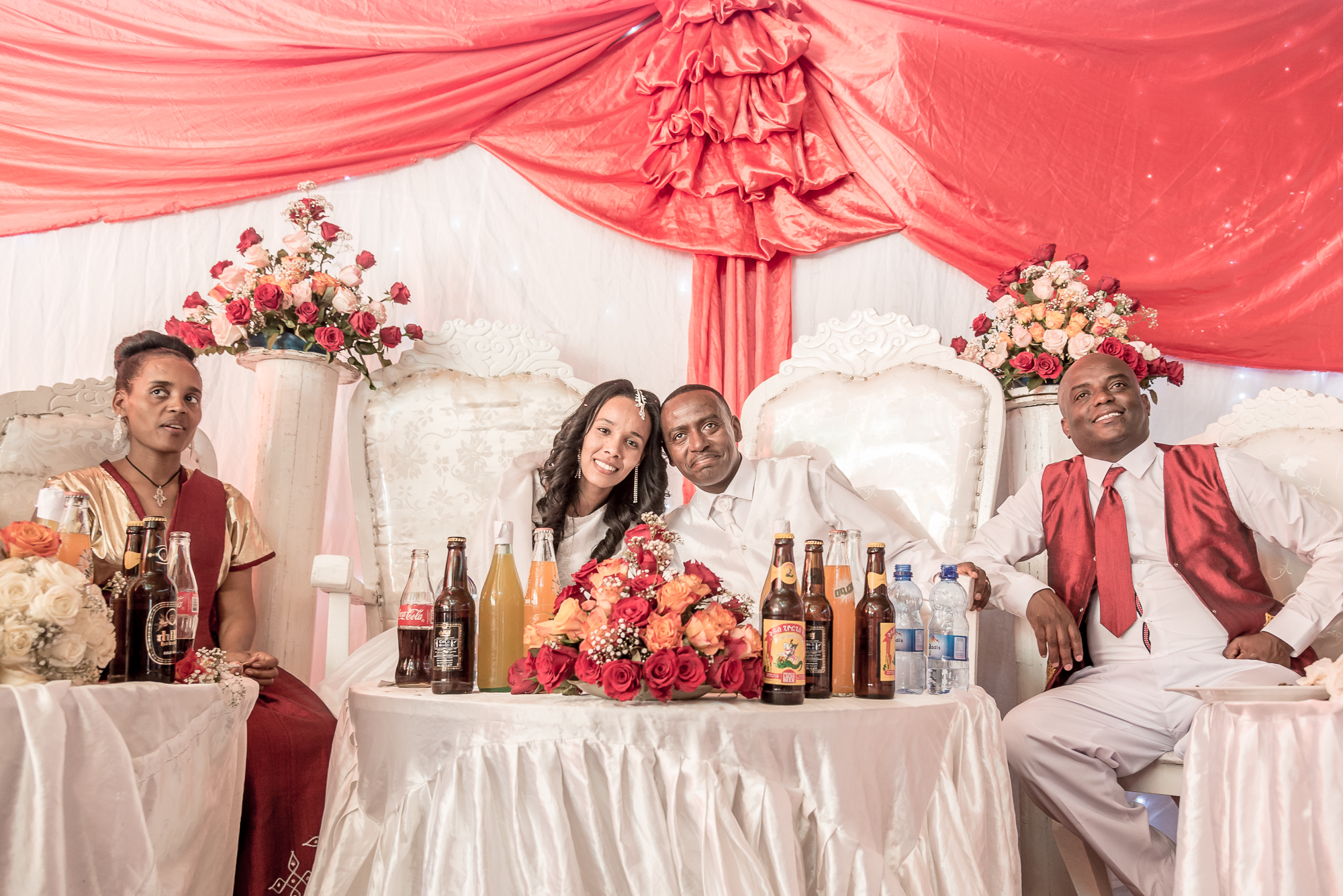 ethiopia, a wedding in Addis abeba