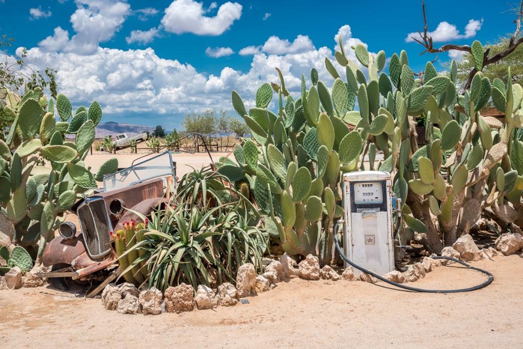 distributore di benzina a solitaire in namibia