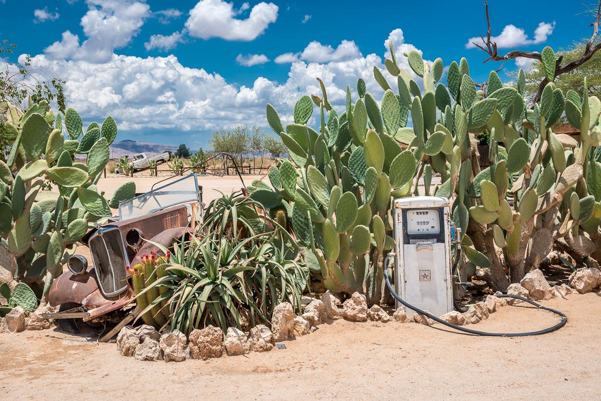 solitaire nostalgic filling station namibia