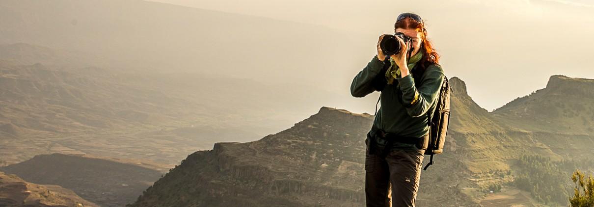 La fotografa Catherina Unger in Etiopia