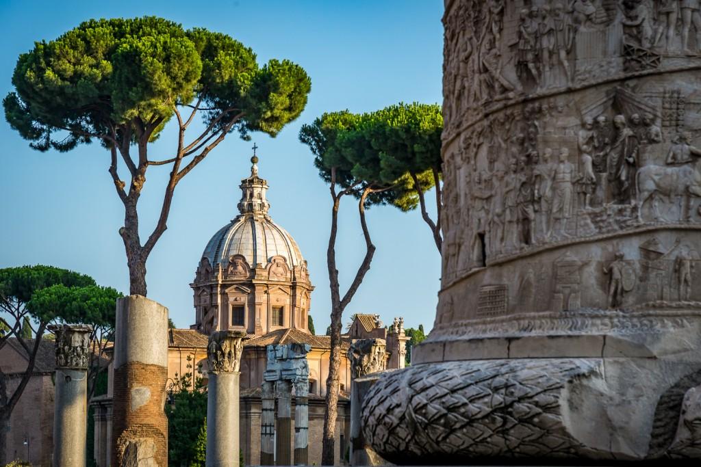 Roma, colonna di traiano