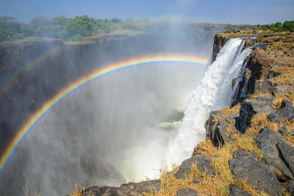 Africa, Zambia, le cascate vittoria