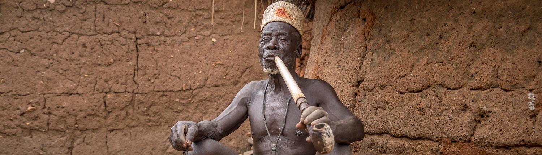 Benin Taneka Koko Fetischpriester