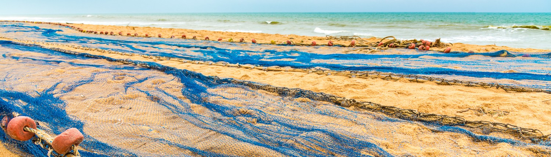 Africa, Benin, cotonou, spiaggia nella route des pecheures
