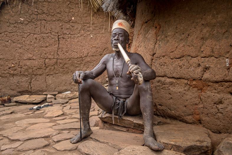 Der Fetischpriester von Taneka Koko
