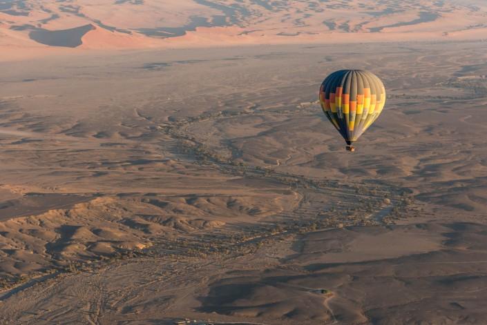 ballooning in Namibia