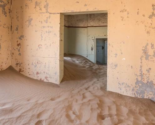 Kolmanskop, la città fantasma in Namibia