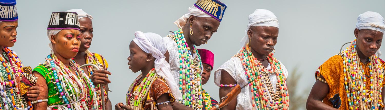 the voodoo festival in Ouidah