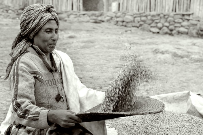 ethiopia, in the highlands