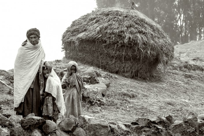 ethiopia, highlands