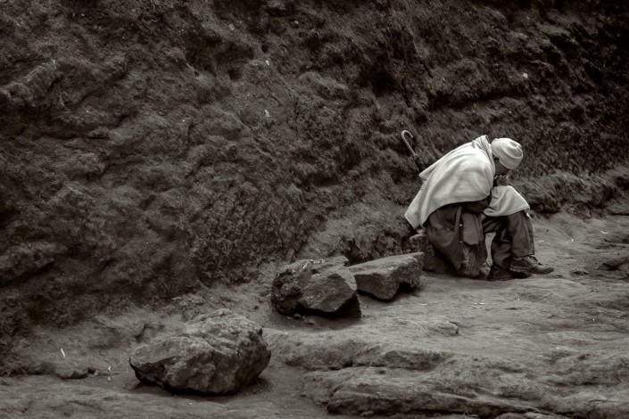 Lalibela ein betender