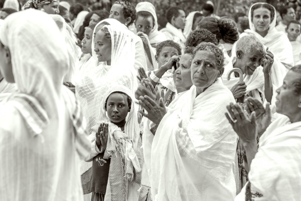 Natale etiope, la festa Timkat al lago di Tana in etiopia
