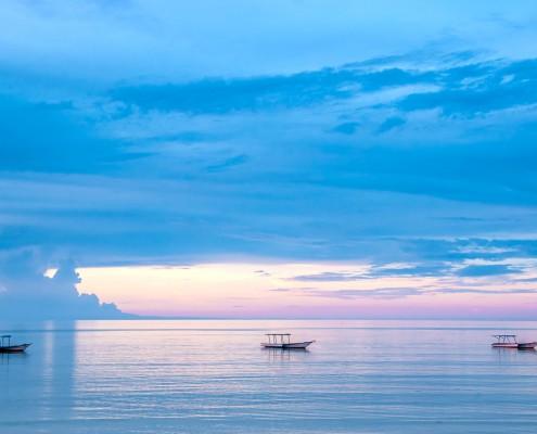 Tramonto sull'isola di Mafia, Tanzania