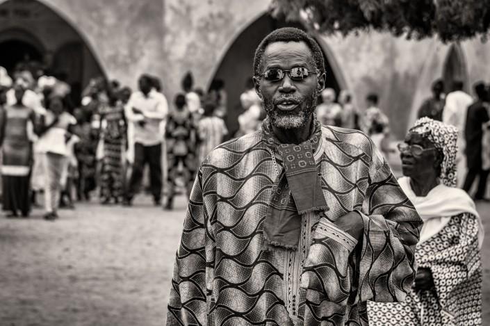 Senegal, ritratto di un uomo