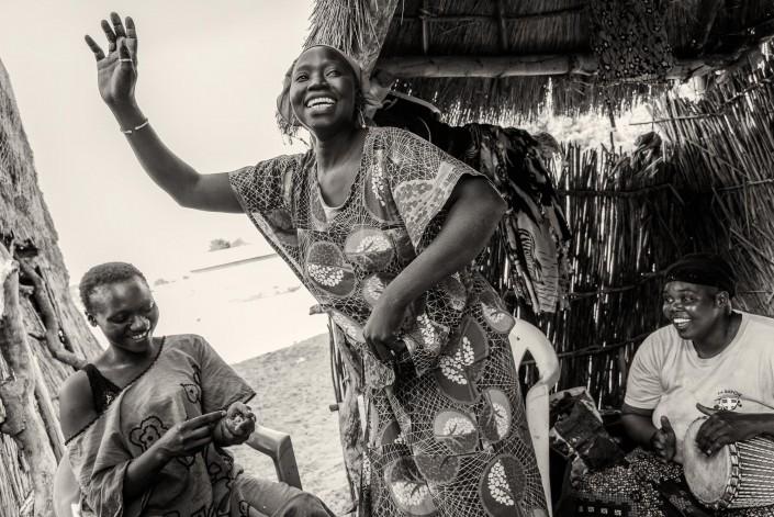 Senegal Frauen auf dem markt