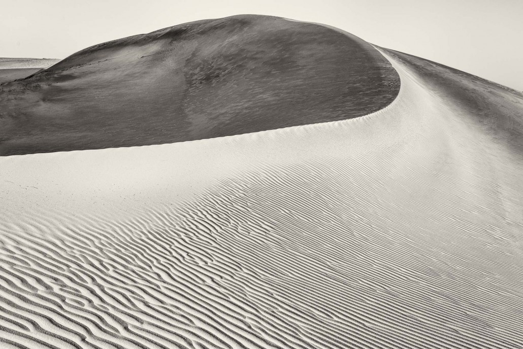Senegal, the sand dunes of Lompoul