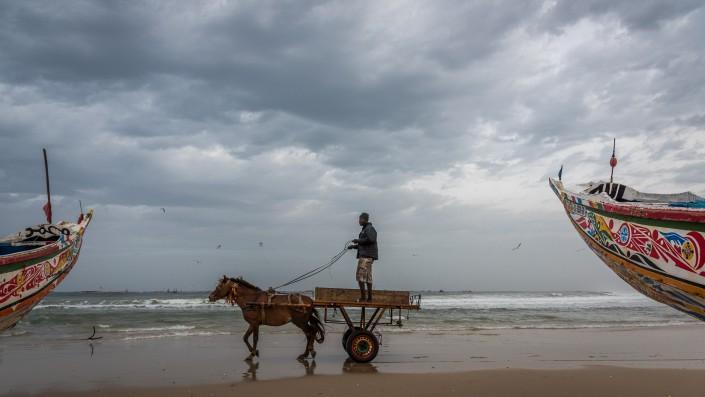 Senegal, das Fischerdorf Kayar