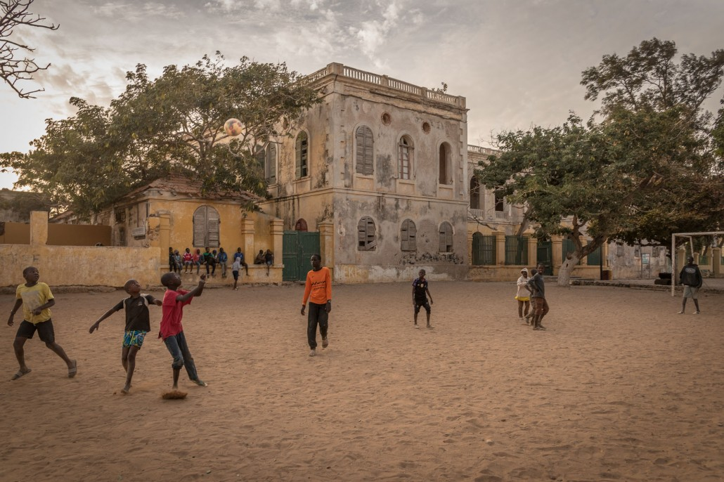 Senegal - on the island of Gorèe