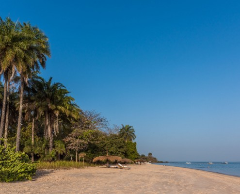 Guinea Bissau, beach on the Bijagos Islands