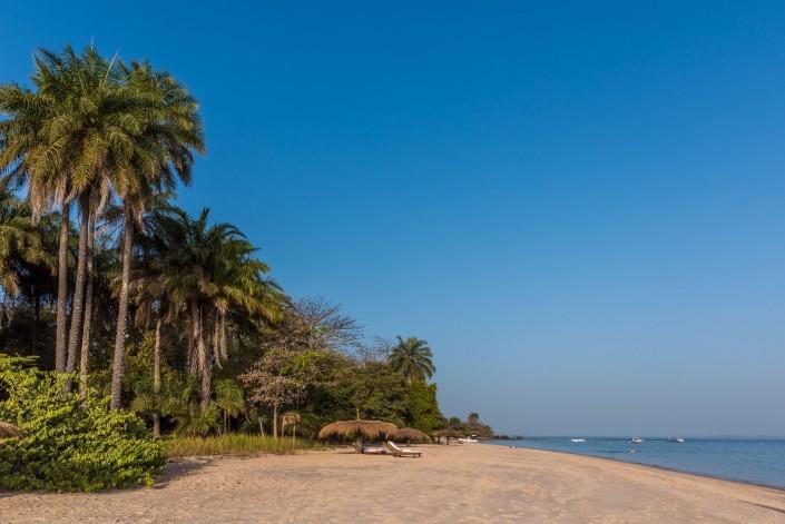 Guinea Bissau, Strand auf den Inseln Bijagos