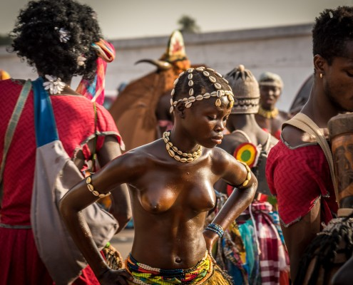Guinea - Bissau, impressions from the Carnival