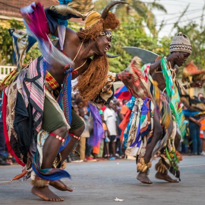 Guinea bissau, Karneval in Bissau