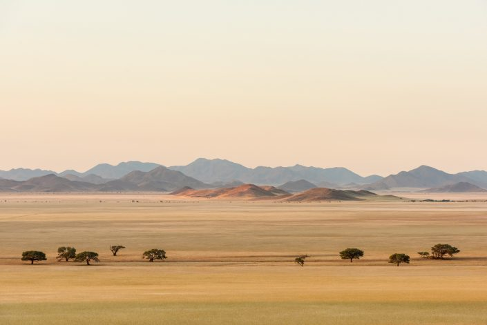 landscape in southern namibia