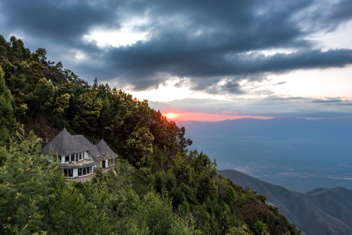 the mambo view point lodge in the usambara mountains in tanzania