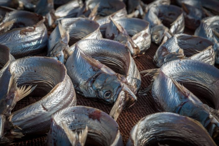 a local tradition in southern tanzania to dry fish