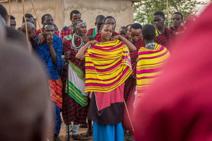 women in Tanzania, At the Maasai Wedding