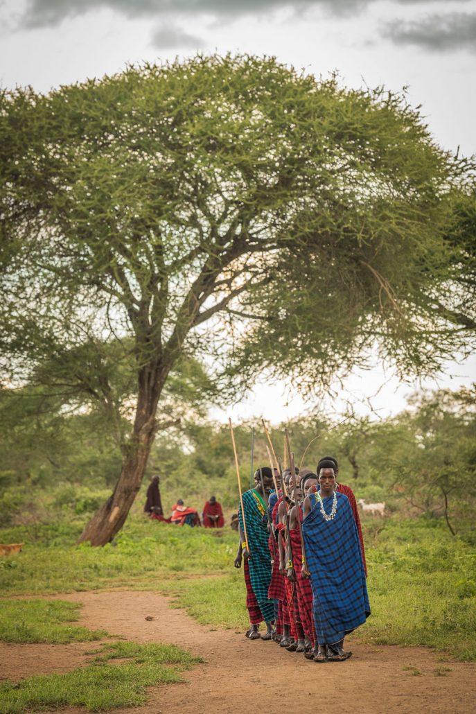At the Maasai Wedding