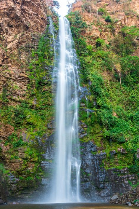 the waterfall of Wli in the Volta Region