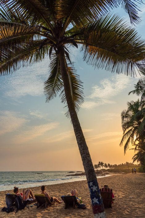 beach holiday near to Elmina, ghana