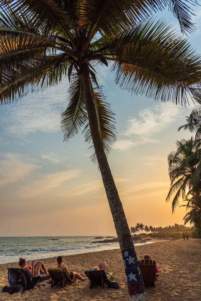 beach holiday near to Elmina, ghana